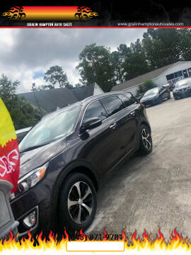 2017 Kia Sorento for sale at Gralin Hampton Auto Sales in Summerville SC