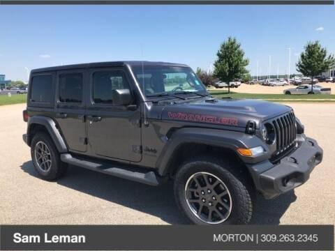 2020 Jeep Wrangler Unlimited for sale at Sam Leman CDJRF Morton in Morton IL