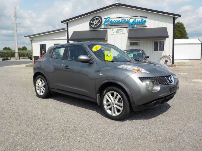 2013 Nissan JUKE for sale at Country Auto in Huntsville OH