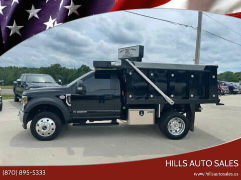 2019 Ford F-550 for sale at Hills Auto Sales in Salem AR