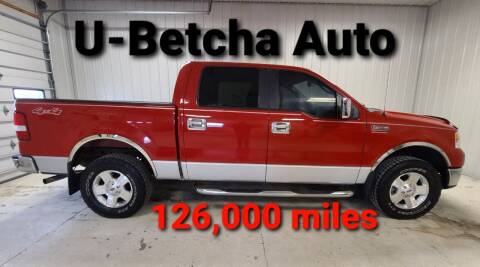 2008 Ford F-150 for sale at Ubetcha Auto in St. Paul NE