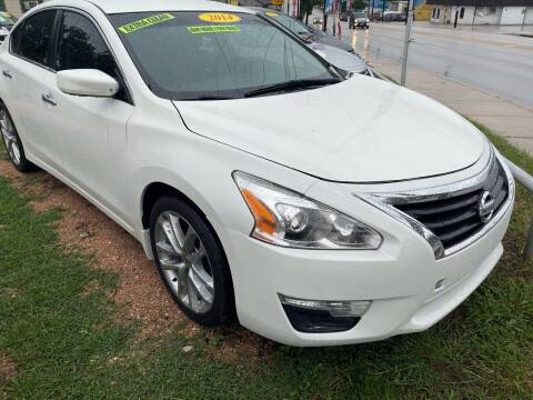 2014 Nissan Altima for sale at S & J Auto Group in San Antonio TX