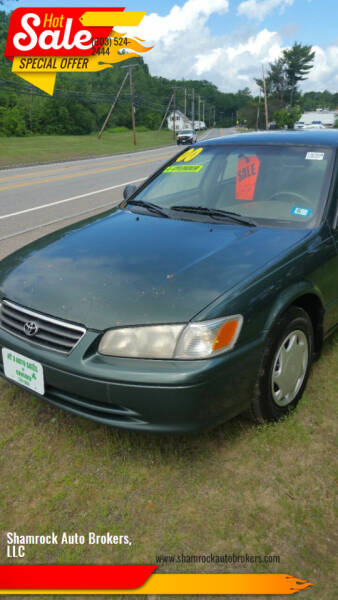 2000 Toyota Camry for sale at Shamrock Auto Brokers, LLC in Belmont NH