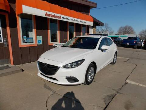 2014 Mazda MAZDA3 for sale at Autoland in Cedar Rapids IA