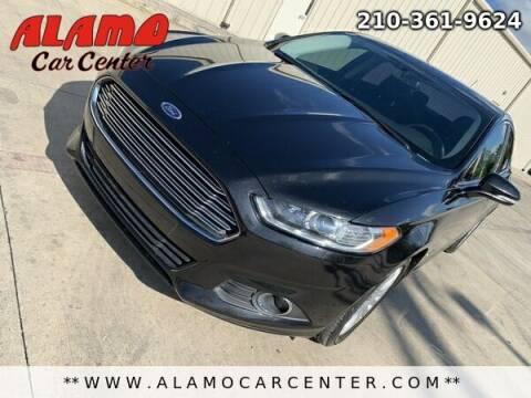 2014 Ford Fusion Hybrid for sale at Alamo Car Center in San Antonio TX