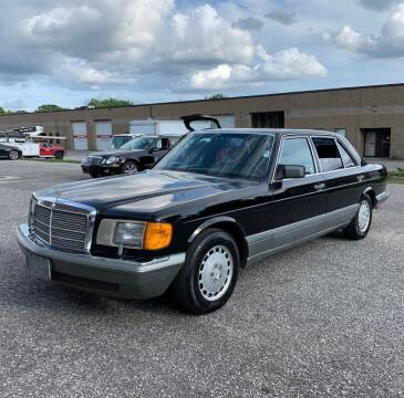 1988 Mercedes-Benz 560-Class for sale at Jordan Auto Group in Paterson NJ