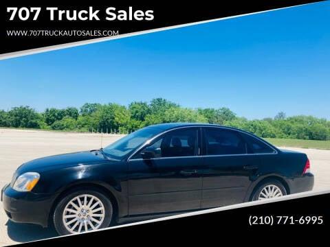2006 Mercury Montego for sale at 707 Truck Sales in San Antonio TX