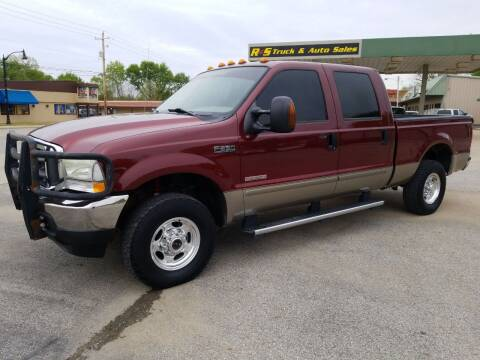 2004 Ford F-250 Super Duty for sale at R & S TRUCK & AUTO SALES in Vinita OK