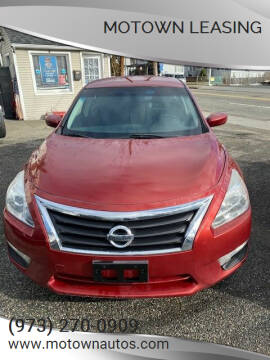 2013 Nissan Altima for sale at Motown Leasing in Morristown NJ