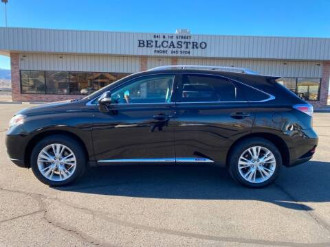 2012 Lexus RX 450h for sale at Belcastro Motors in Grand Junction CO