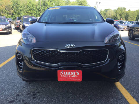 2019 Kia Sportage for sale at NORM'S USED CARS INC in Wiscasset ME
