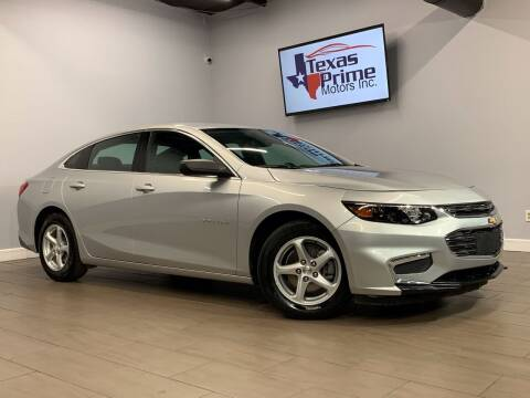 2017 Chevrolet Malibu for sale at Texas Prime Motors in Houston TX
