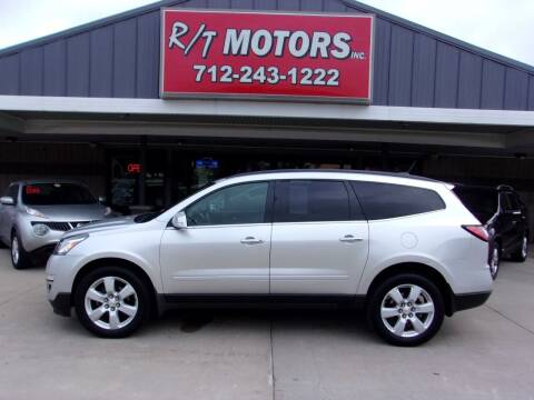2016 Chevrolet Traverse for sale at RT Motors Inc in Atlantic IA