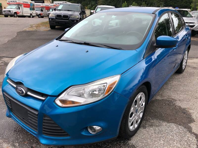 2012 Ford Focus for sale at Atlantic Auto Sales in Garner NC