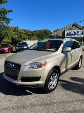 2007 Audi Q7 for sale at Frontline Motors Inc in Chicopee MA