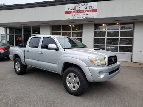 2006 Toyota Tacoma for sale at Landes Family Auto Sales in Attleboro MA