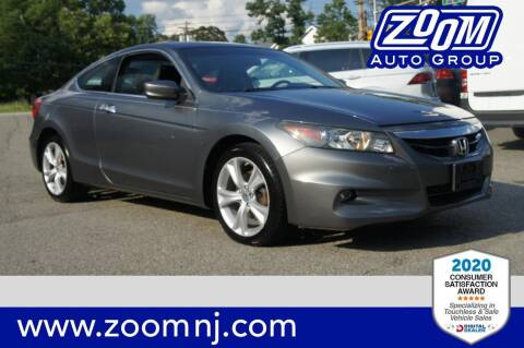 2011 Honda Accord for sale at Zoom Auto Group in Parsippany NJ