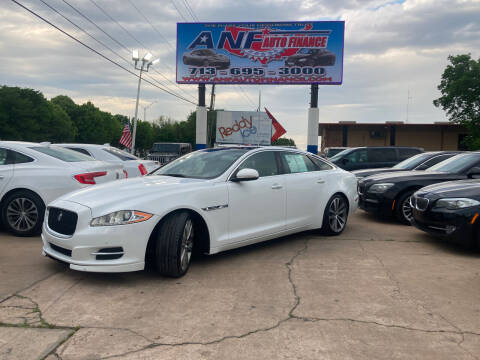 2013 Jaguar XJL for sale at ANF AUTO FINANCE in Houston TX