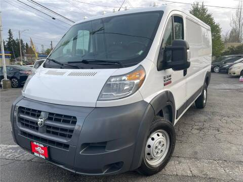 2017 RAM ProMaster Cargo for sale at Real Deal Cars in Everett WA