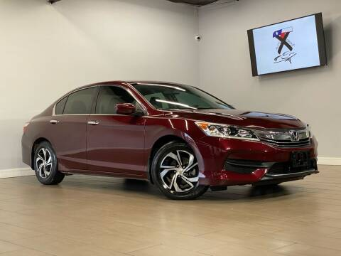 2016 Honda Accord for sale at TX Auto Group in Houston TX