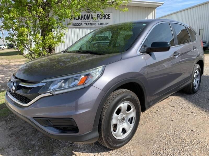 2016 Honda CR-V for sale at Lumpy's Auto Sales in Oklahoma City OK