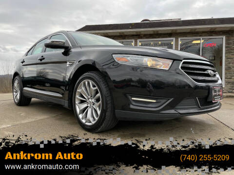 2013 Ford Taurus for sale at Ankrom Auto in Cambridge OH