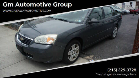 2007 Chevrolet Malibu for sale at GM Automotive Group in Philadelphia PA