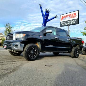 2013 Toyota Tundra for sale at Hayden Cars in Coeur D Alene ID