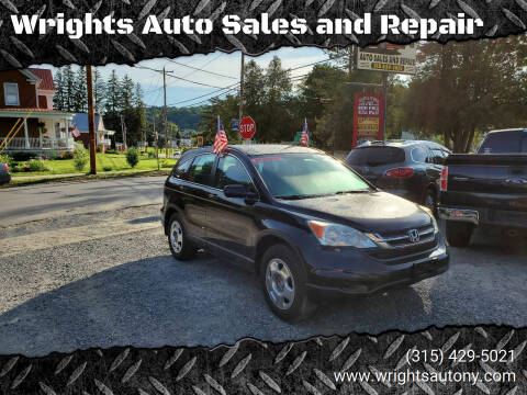 2010 Honda CR-V for sale at Wrights Auto Sales and Repair in Dolgeville NY