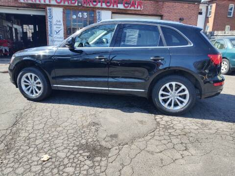2015 Audi Q5 for sale at HARTFORD MOTOR CAR in Hartford CT