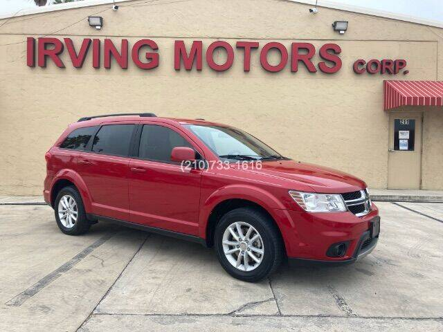 2015 Dodge Journey for sale at Irving Motors Corp in San Antonio TX