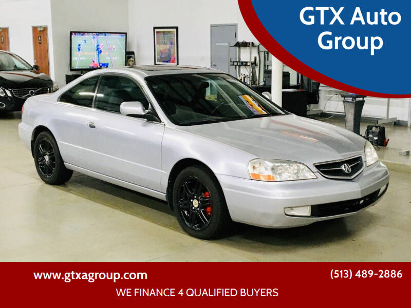 2001 Acura CL for sale at GTX Auto Group in West Chester OH