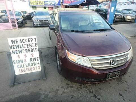2012 Honda Odyssey for sale at Cedano Auto Mall Inc in Bronx NY