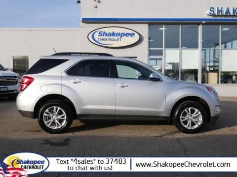 2016 Chevrolet Equinox for sale at SHAKOPEE CHEVROLET in Shakopee MN
