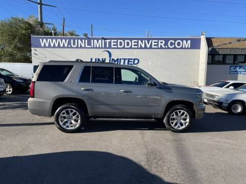 2017 Chevrolet Tahoe for sale at Unlimited Auto Sales in Denver CO