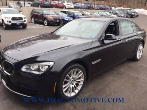 2015 BMW 7 Series for sale at J & M Automotive in Naugatuck CT