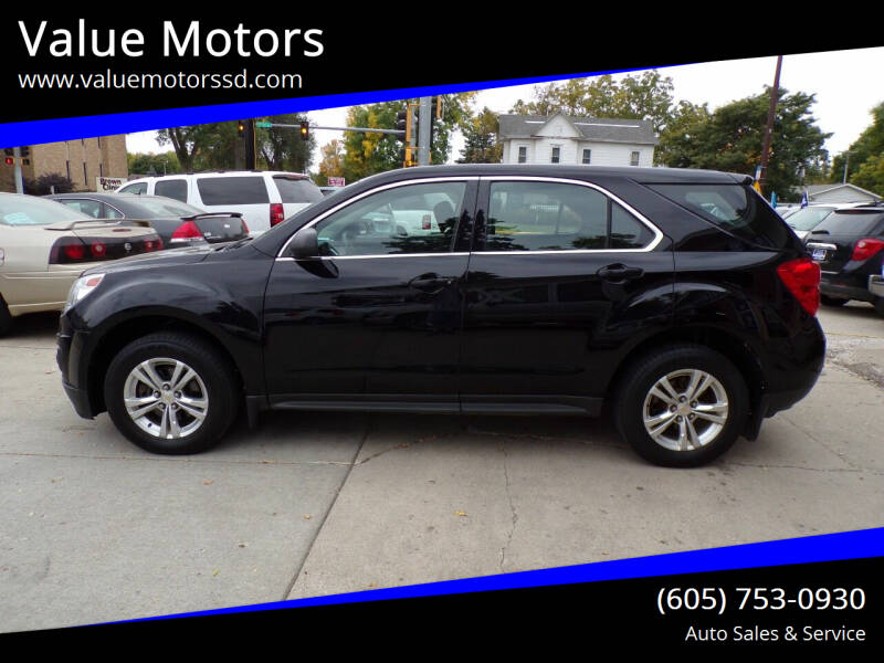2012 Chevrolet Equinox for sale at Value Motors in Watertown SD
