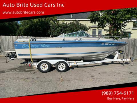 1986 Sea Ray Sealite for sale at Auto Brite Used Cars Inc in Saginaw MI