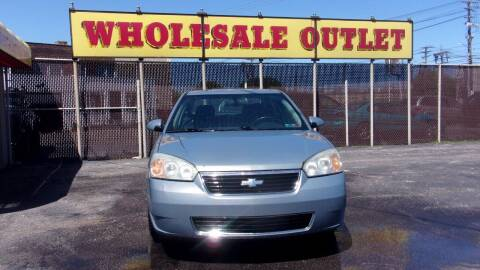 2007 Chevrolet Malibu for sale at LONG BROTHERS CAR COMPANY in Cleveland OH