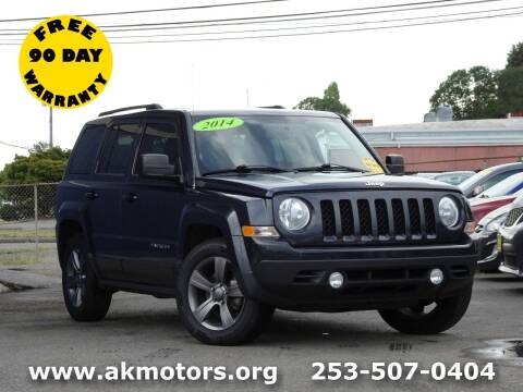 2014 Jeep Patriot for sale at AK Motors in Tacoma WA