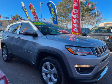 2019 Jeep Compass for sale at Duke City Auto LLC in Gallup NM