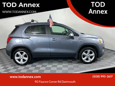 2015 Chevrolet Trax for sale at TOD Annex in North Dartmouth MA
