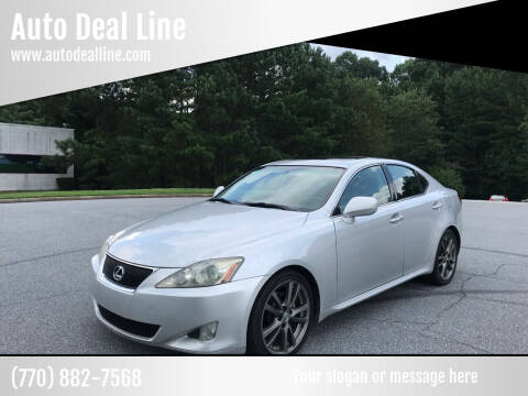 2006 Lexus IS 250 for sale at Auto Deal Line in Alpharetta GA