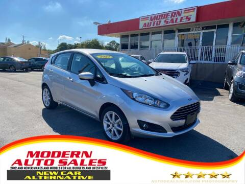 2019 Ford Fiesta for sale at Modern Auto Sales in Hollywood FL