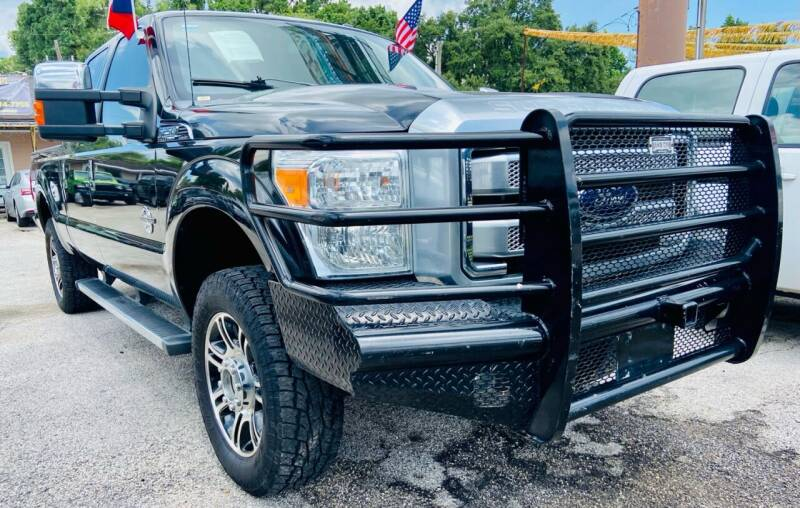 2015 Ford F-250 Super Duty for sale at Lion Auto Finance in Houston TX