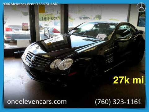 2006 Mercedes-Benz SL-Class for sale at One Eleven Vintage Cars in Palm Springs CA