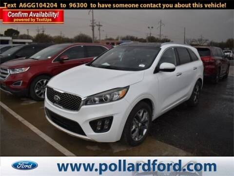 2016 Kia Sorento for sale at South Plains Autoplex by RANDY BUCHANAN in Lubbock TX