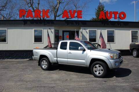 2008 Toyota Tacoma for sale at Park Ave Auto Inc. in Worcester MA