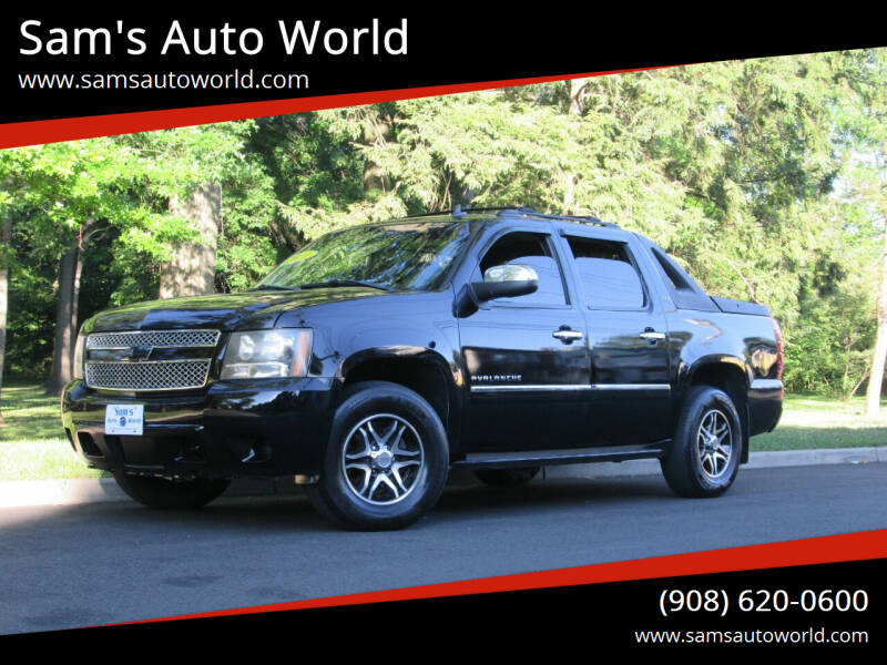 2011 Chevrolet Avalanche for sale at Sam's Auto World in Roselle NJ