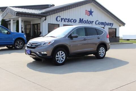 2015 Honda CR-V for sale at Cresco Motor Company in Cresco IA